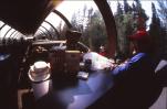 Observation car on the Polar Bear Express