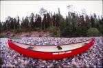 Canoe anchors bear-pole rig
