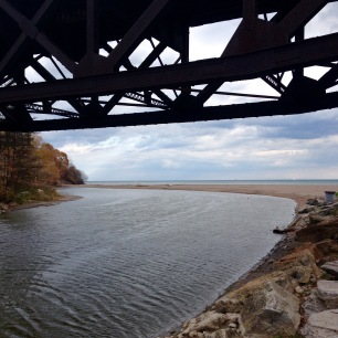 The Rouge River flows into Lake Ontario