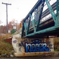 Twyn Rivers Drive bridge over the Rouge