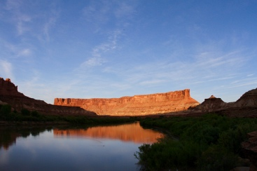 Bighorn Mesa at sunset